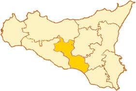 Immagine della Sicilia, provincia di Caltanissetta