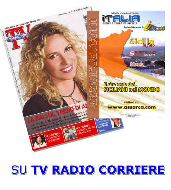 IT ALIA GENTE E TERRA DI SICILIA SU TV RADIO CORRIERE