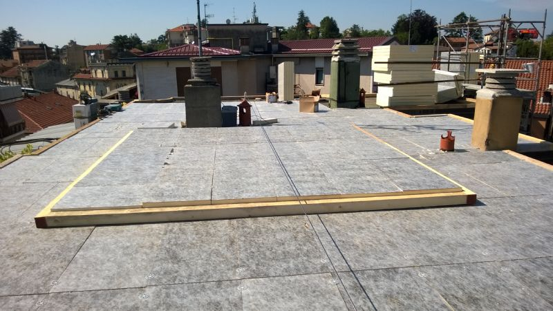 Rifacimento Terrazzo con impermeabilizzazione con linea vita | EDIL3T