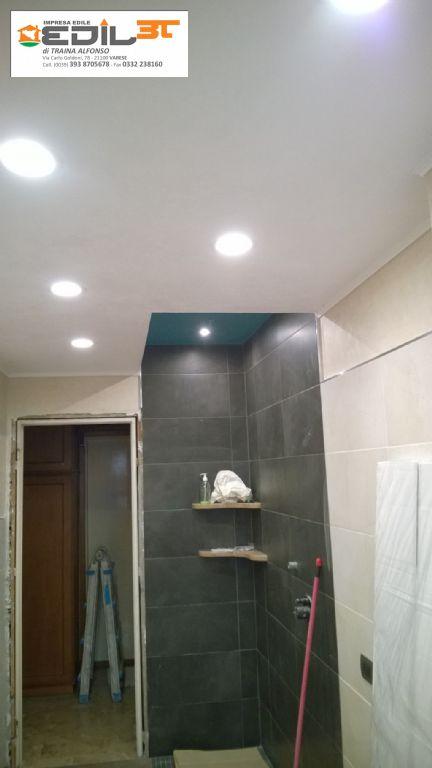 Rifacimento bagno con doccia in muratura e abbassamento in - Ripresa di nascosto in bagno ...