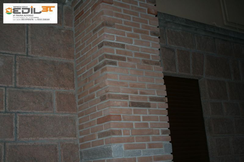 Ampliamento Villa Recupero Balconi Con Archi Con Mattoni A Vista
