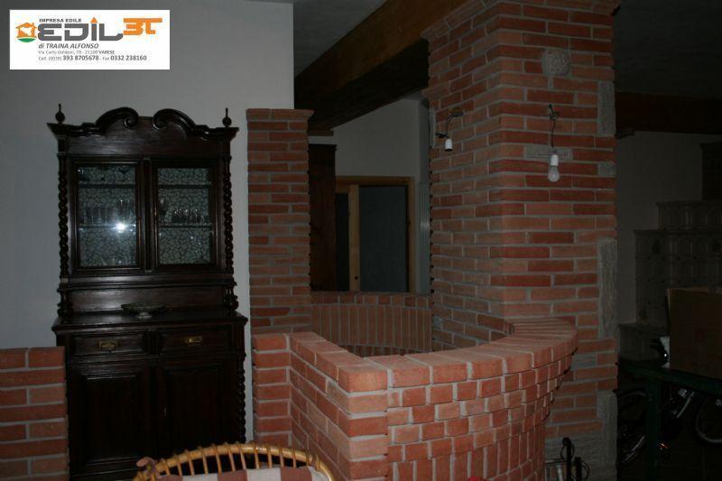 Taverna in sassi e mattoni a vista edil3t for Arco in mattoni a vista