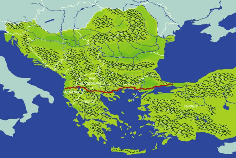 <B>L'antica via Egnatia, la strada bipolare</B>