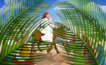 <b>Domingo de ramos a el Agua Luenga…</b>