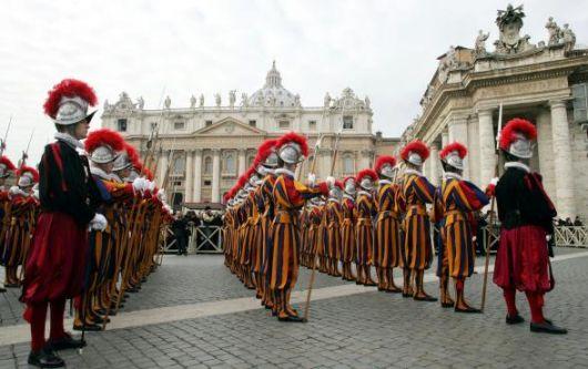 <b>Le guardie svizzere del Papa   -  La storia   -</b>