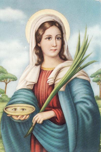<b>St Lucy Suspense… with cuccìa</b>