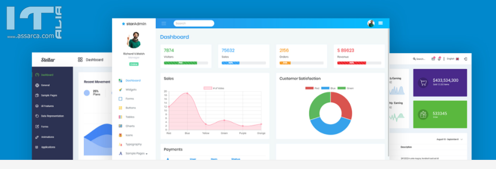 Free and Premium Bootstrap Admin Dashboard Template