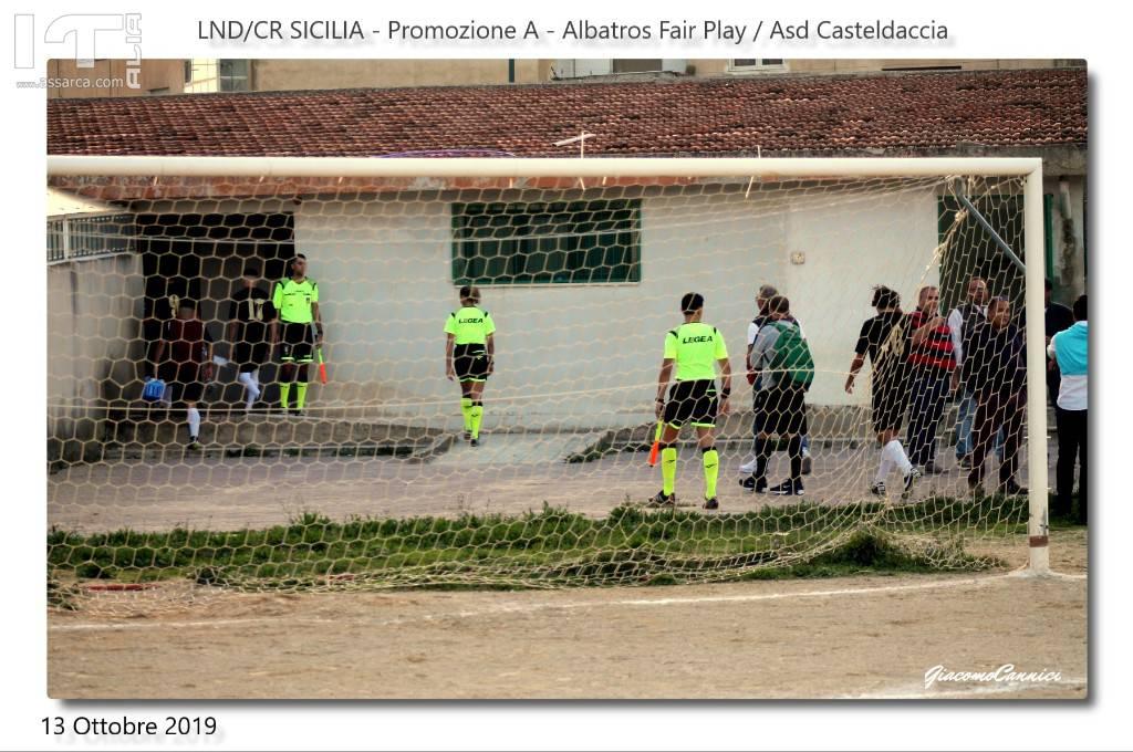 """PROMOZIONE A:  ALBATROS FAIR PLAY / CASTELDACCIA : """" IL WALZER DELLE OCCASIONI SPRECATE""""."""