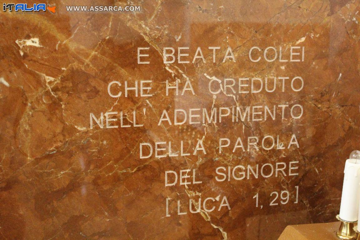 MESSA DI CONSACRAZIONE CHIESA IMMACOLATA - ALIA (PA) 06/12/2014