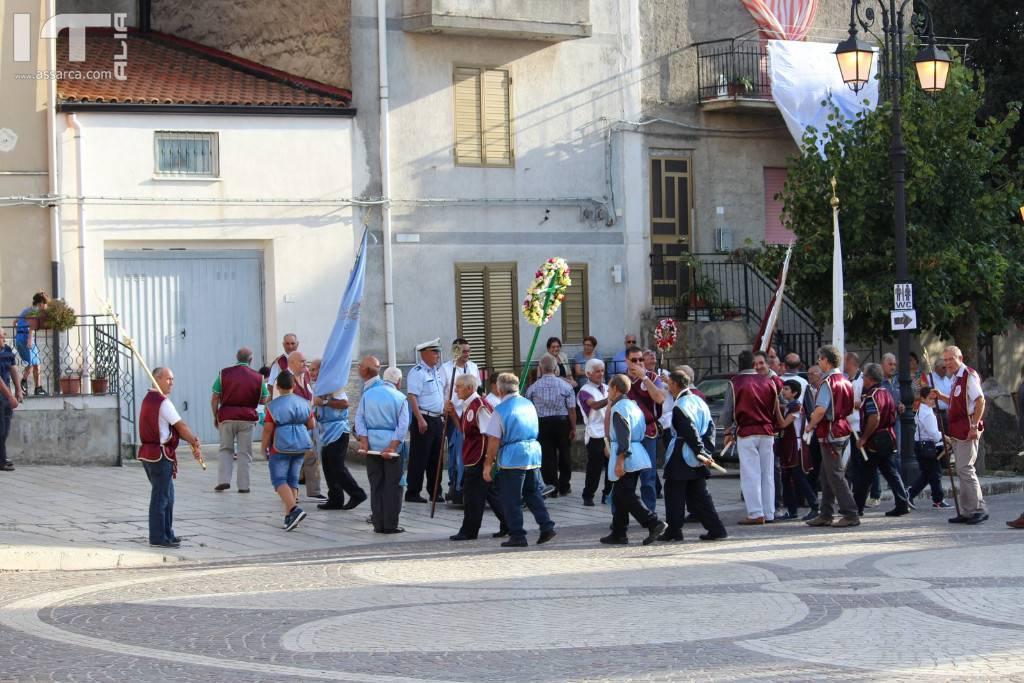 Processione di Santa Rosalia, Alia 4 settembre 2018