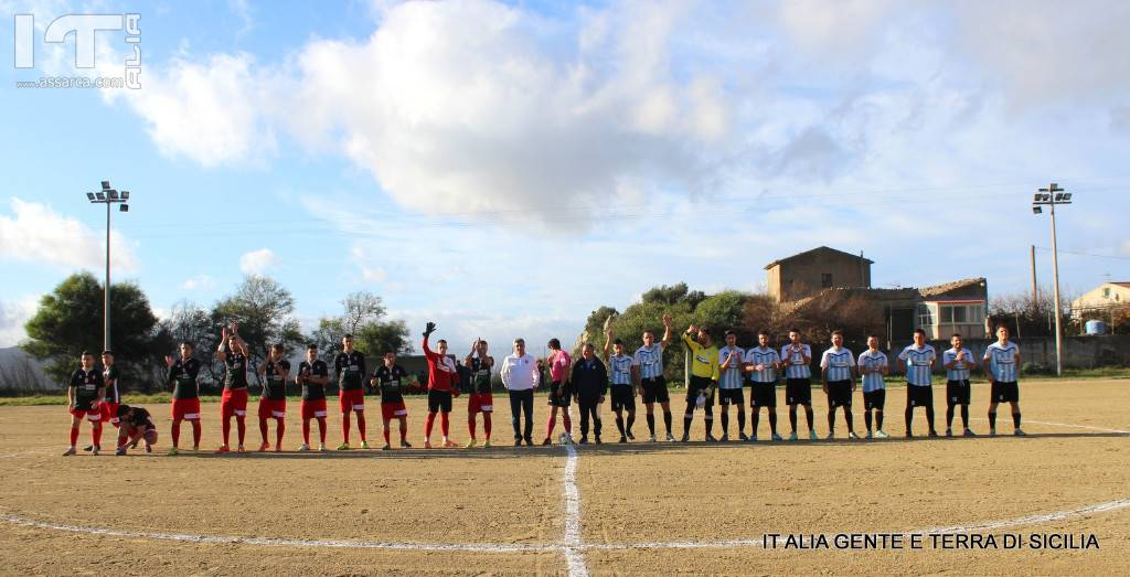 USD ROCCAPALUMBA - USD VALLEDOLMO. 1 - 2 