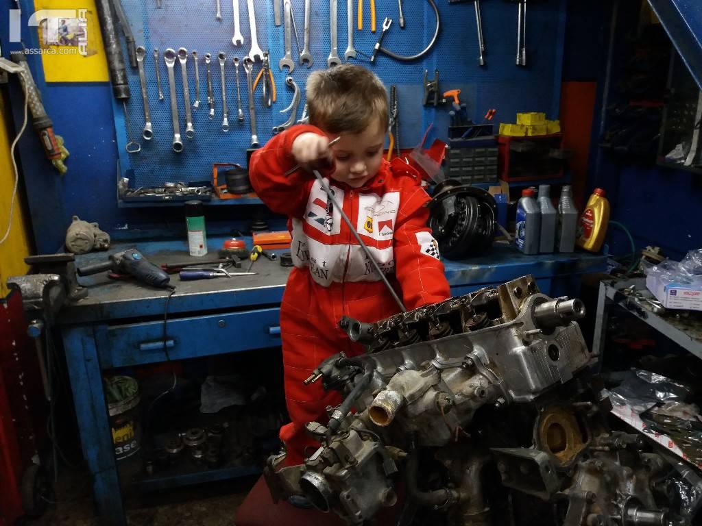 Piccoli meccanici crescono...,