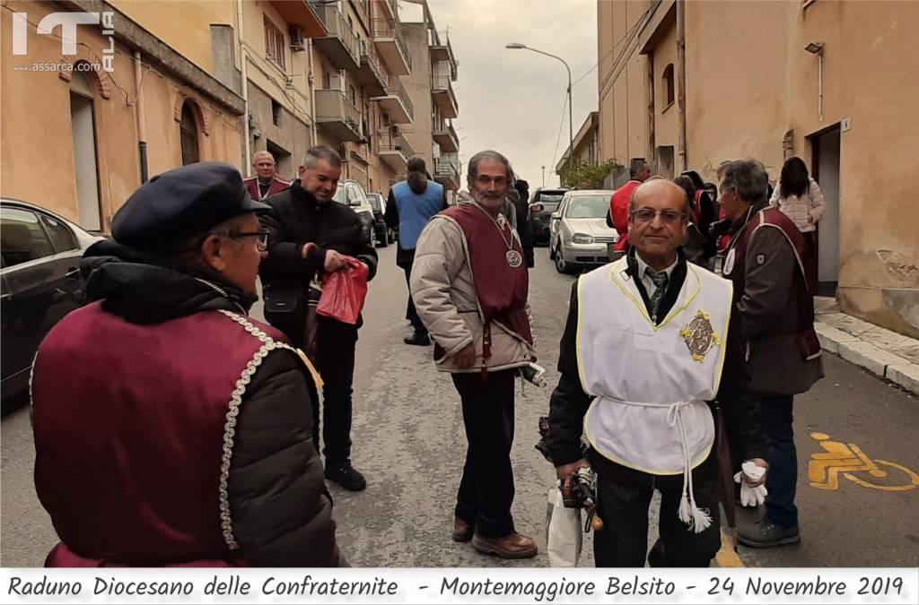 RADUNO DIOCESANO DELLE CONFRATERNITE - MONTEMAGGIORE BELSITO 24 NOVEMBRE 2019.