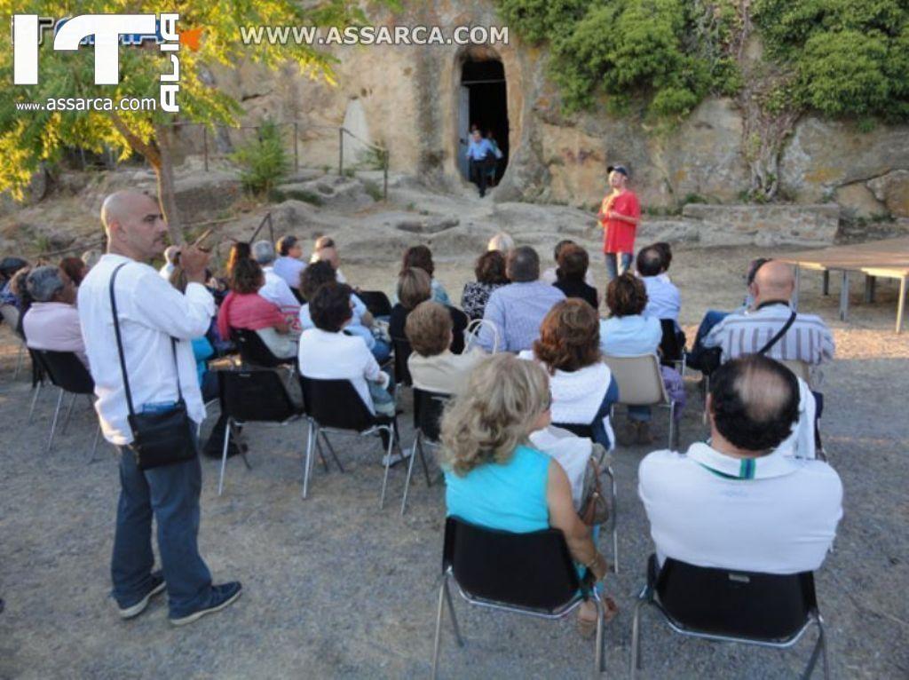 """"""" SERATA DELLE STELLE """" - ALIA GROTTE DELLA GURFA - 11/08/2012"""