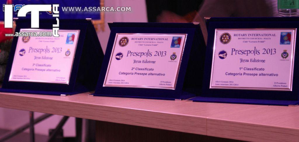 PRESEPOLIS 2014 - PREMIAZIONE AL CENTRO CONGRESSI