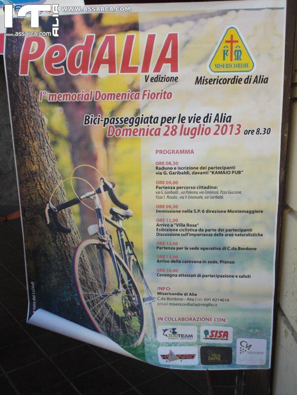 5° EDIZIONE DI PED...ALIA  PASSEGGIATA IN BICI..