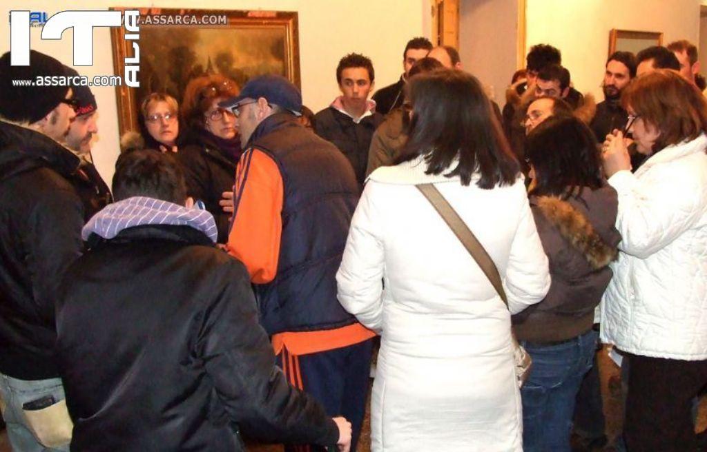 MOMENTI DI PROVE PER LA -VIA CRUCIS-  (ALIA 11 MARZO 2010)