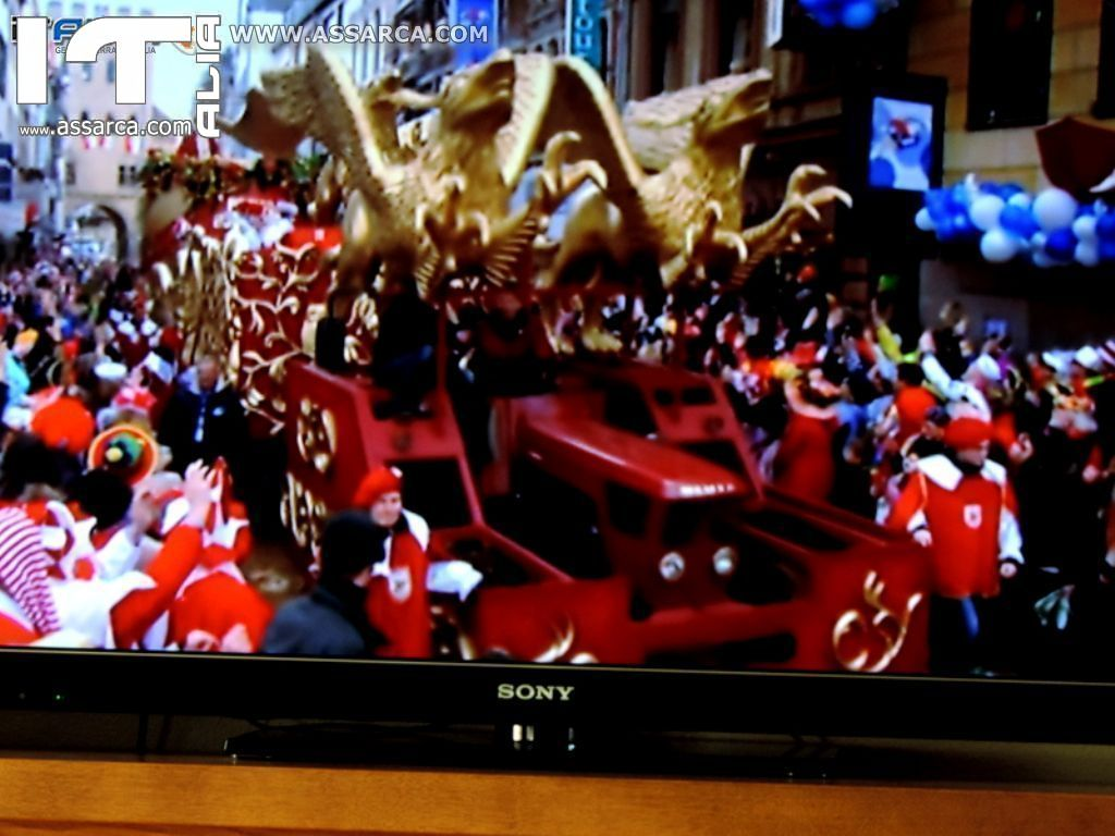 LA SFILATA DI CARNEVALE IN GERMANIA,