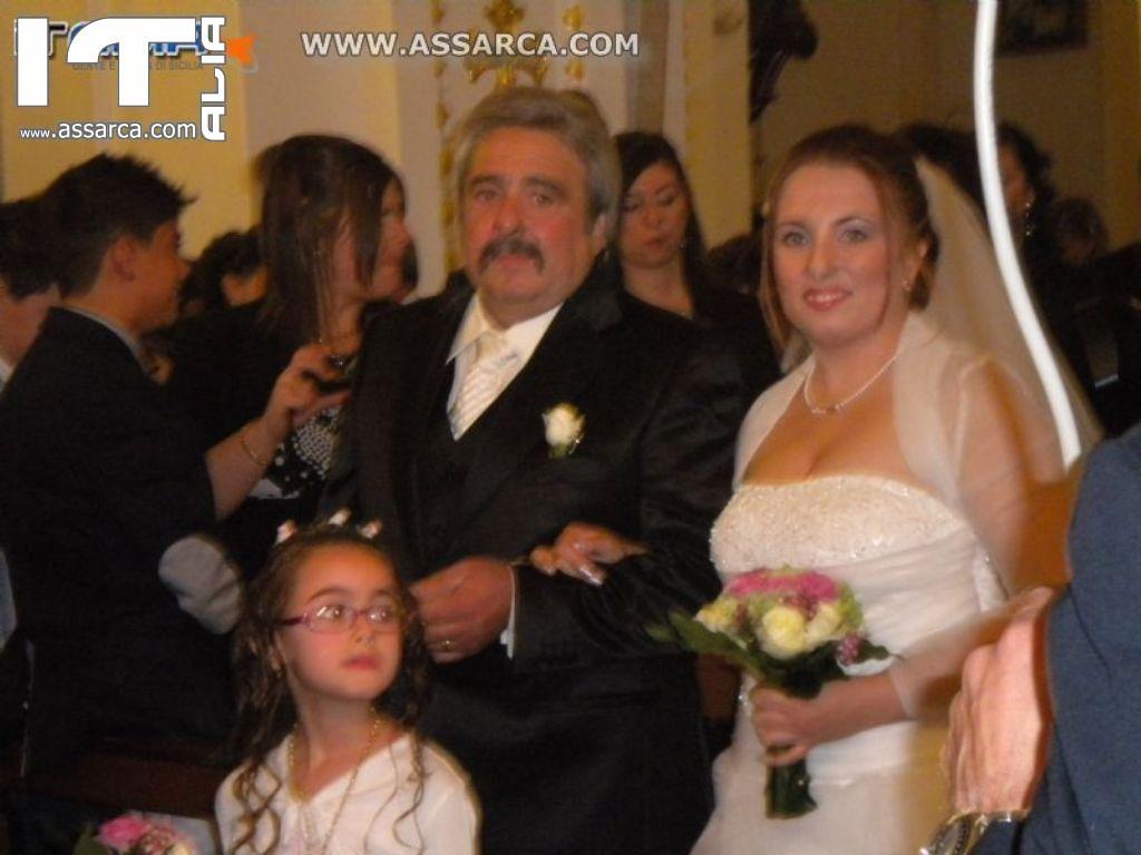 MATRIMONIO ANGELA SIRAGUSA E GIANNI PACE