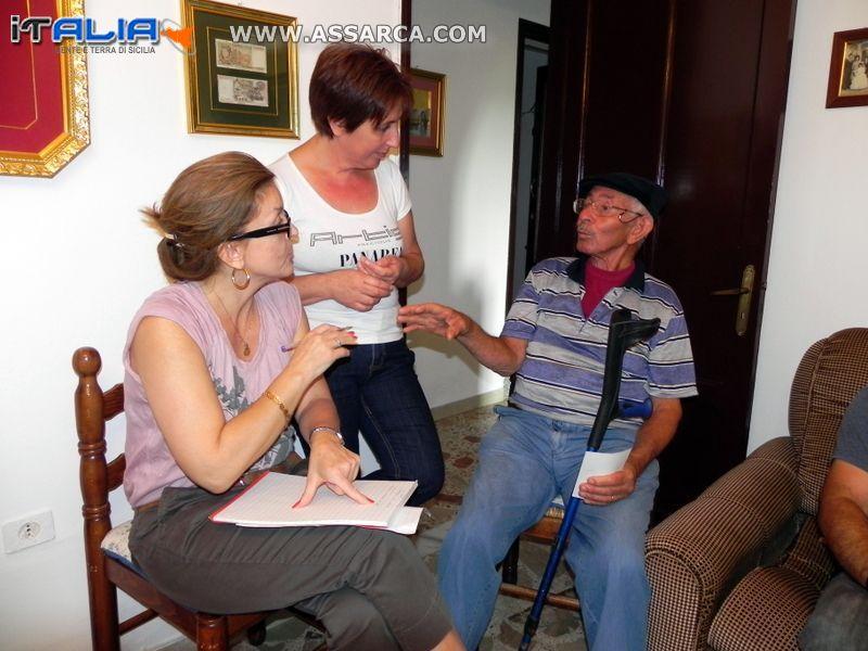 ARLENE E LA SUA FAMIGLIA INCONTRANO I PARENTI ALIESI,