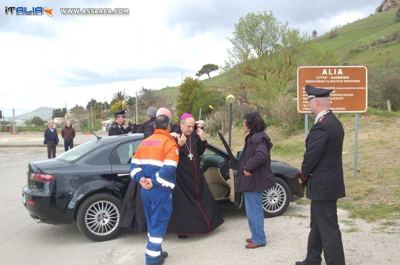 INAUGURAZIONE CHIESA DELLA MADONNA IMMACOLATA. ALIA 5 MARZO 2010
