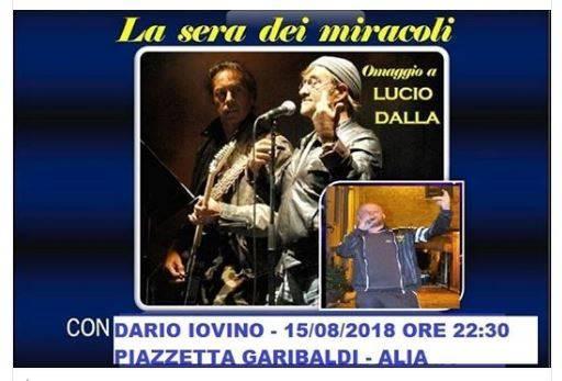 Da Piazzetta Garibaldi -  ALIA - LA SERA DEI MIRACOLI - con Dario Iovino - ( IN ATTESA DIRETTA LIVE )