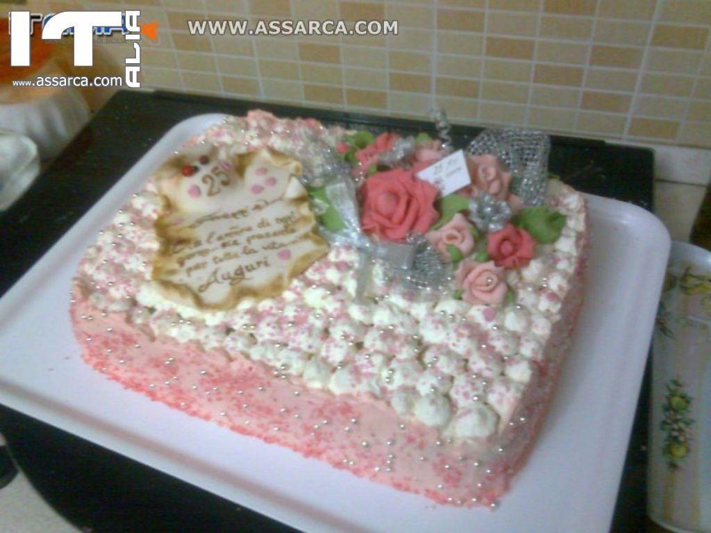 Decorazioni Per Torte In Pasta Di Zucchero E Confetti