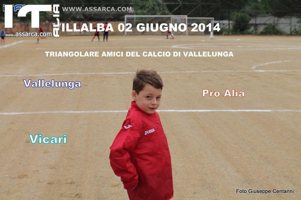 TRIANGOLARE CALCIO VALLELUNGA,VICARI E PRO ALIA     VILLALBA 02 GIUGNO 2014