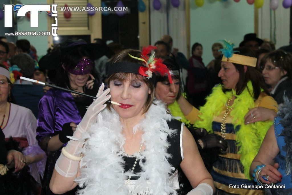 QUARTA EDIZIONE FESTA IN MASCHERA  AL CENTRO DIURNO  ALIA 01/03/2014 1^ PARTE