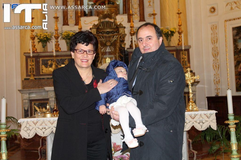 Battesimo Francesca e Francesco Pio Cirino   Alia 23/02/2014,