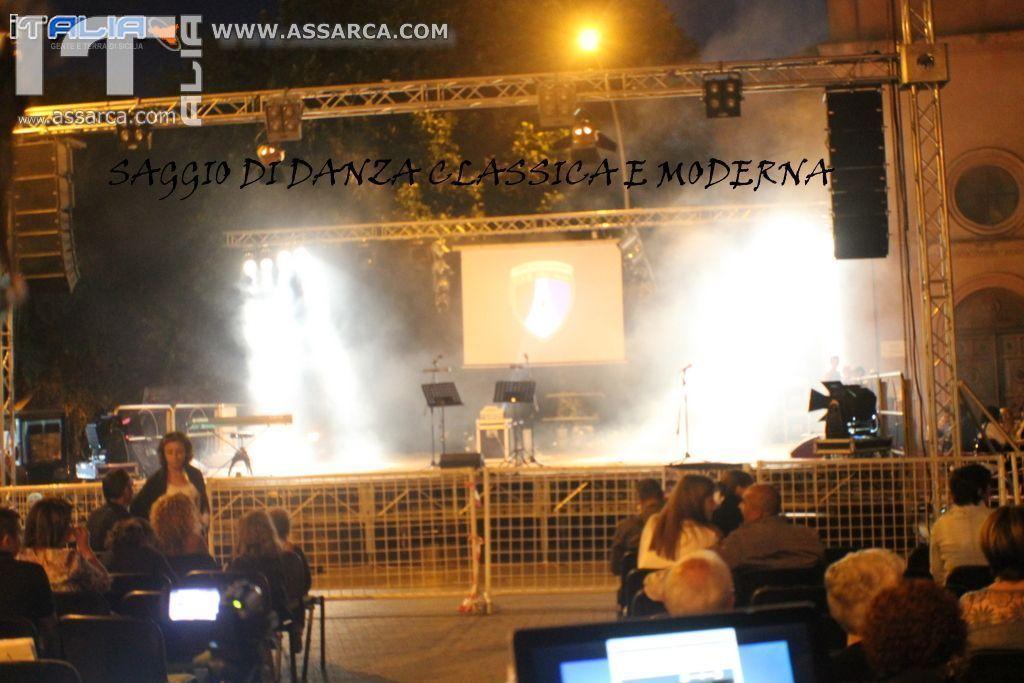 SAGGIO DI DANZA CLASSICA E MODERNA,  ALIA 01 LUGLIO 2014
