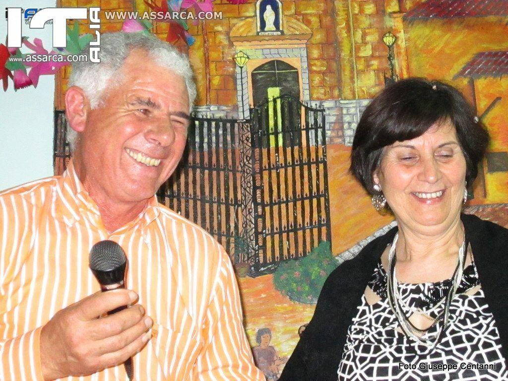 SERATA DEL GIOVEDI DELLE COMARI E FEST. COMPLEANNO GIUSEPPE SAGONA 20/02/2014