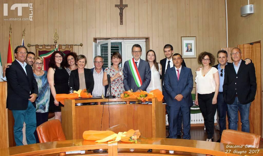 ALIA 27 GIUGNO 2017 -  1° CONSIGLIO COMUNALE SINDACO ING. FELICE GUGLIEMO