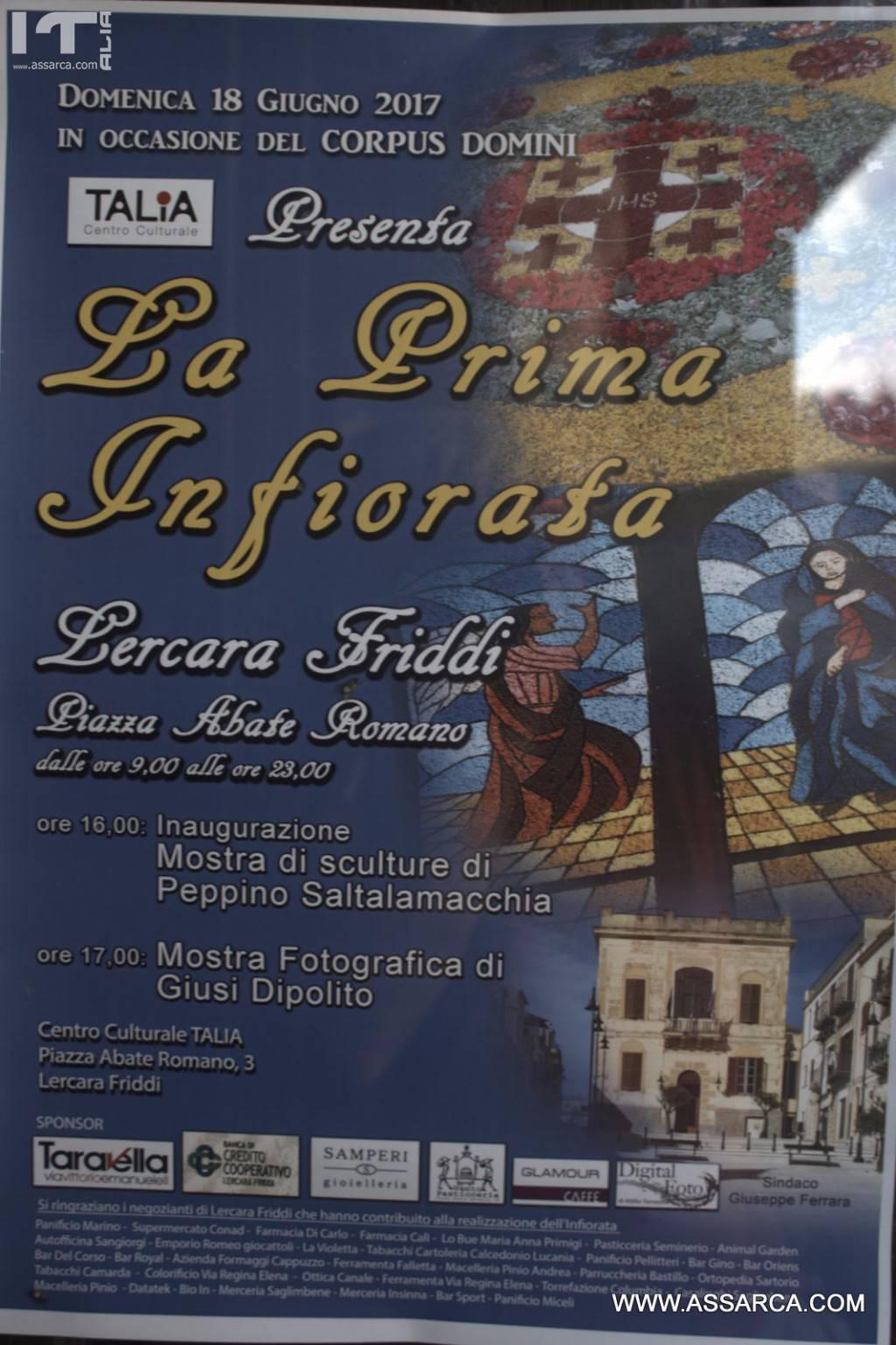 PRIMA INFIORATA 2017,LERCARA FRIDDI