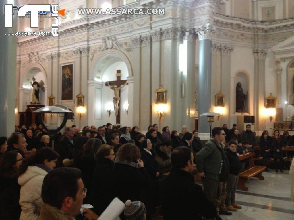 FESTA DELLA SACRA FAMIGLIA 30 DICEMBRE 2012