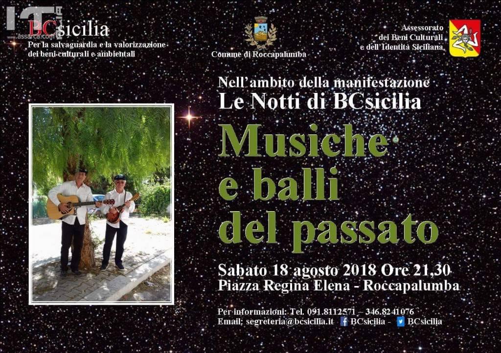ROCCAPALUMBA. MUSICHE E BALLI DEL PASSATO