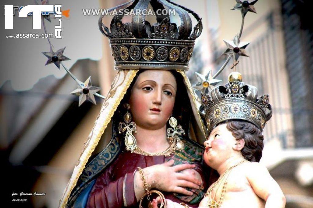 PROCESSIONE MADONNA DELLE GRAZIE - ALIA 2 LUGLIO 2013 - 1^ PARTE -
