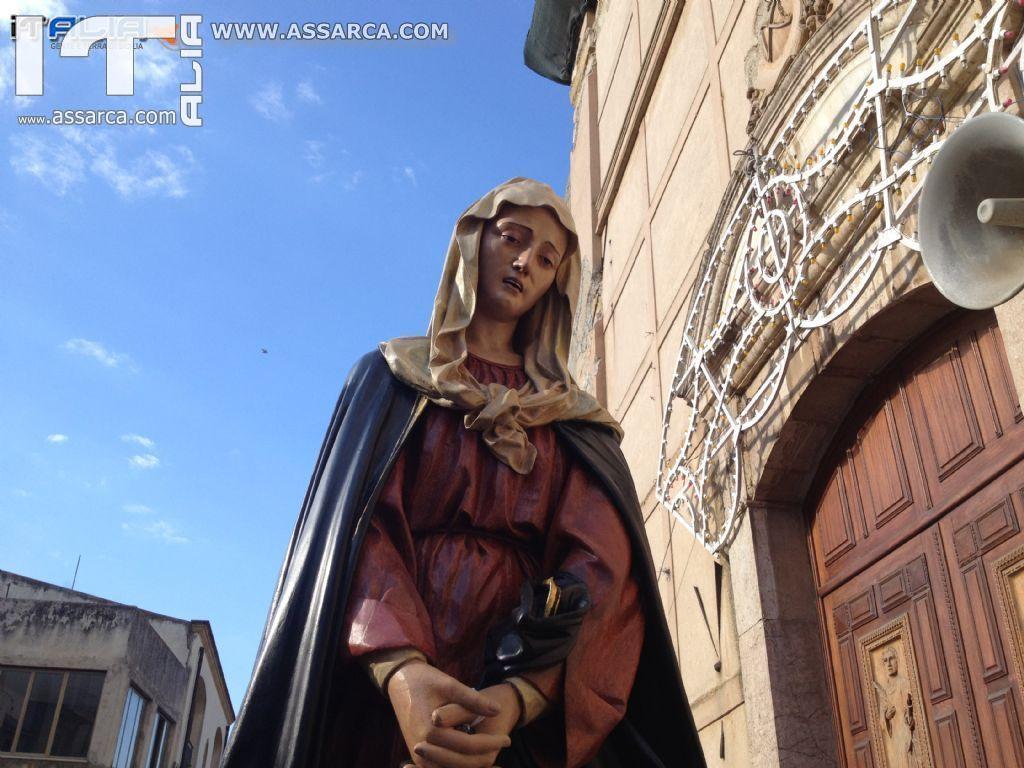 CELEBRAZIONE EUCARISTICA E PROCESSIONE MARIA SS. ADDOLORATA ALIA, 21 SETTEMBRE 2013