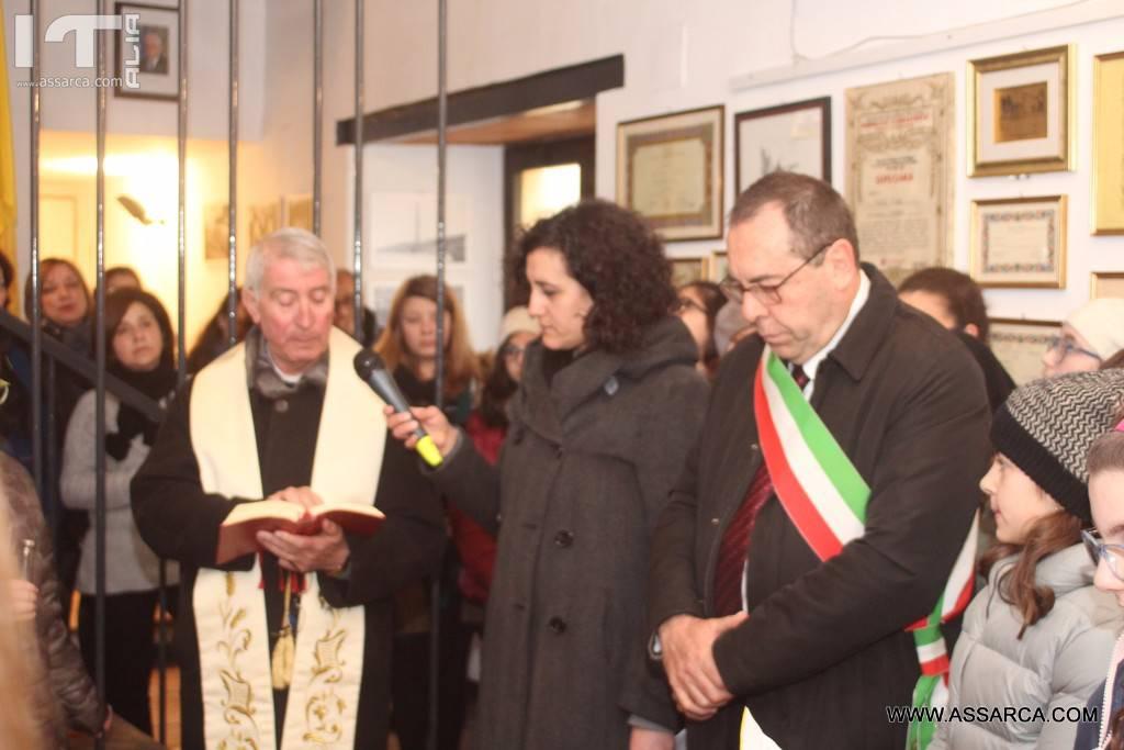 Alia 8 Marzo 2017,inaugurazione della biblioteca comunale a Maria Fuxa.,