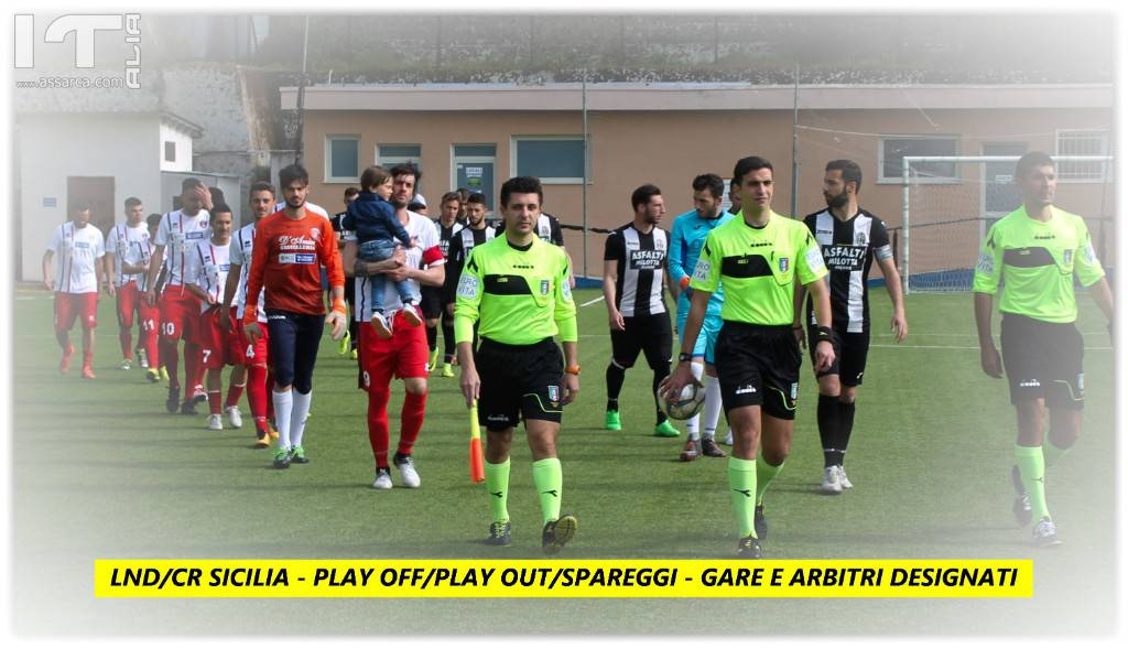 LND/CR SICILIA - SPAREGGI - PLAY OUT/PLAY OFF
