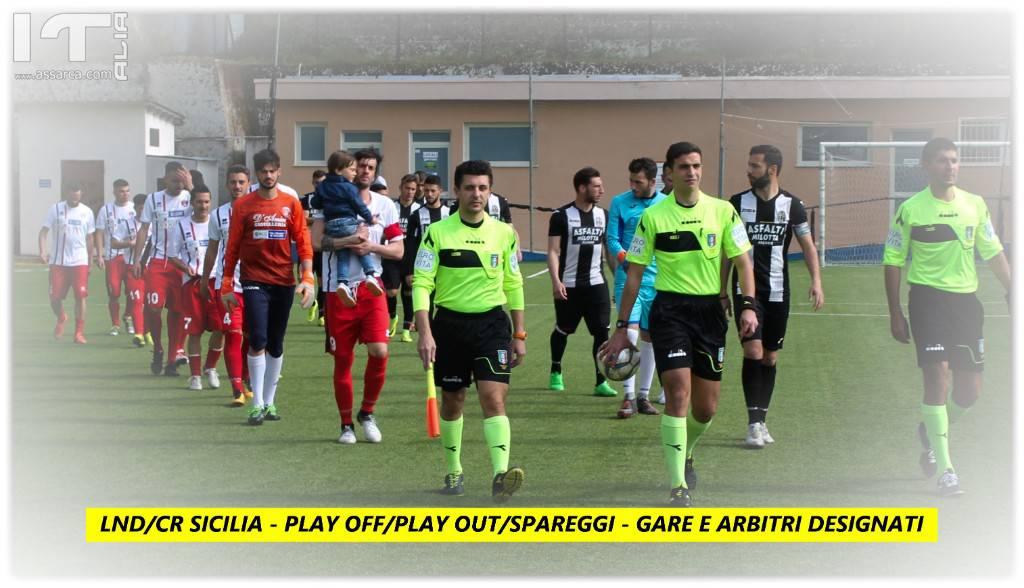 LND/CR Sicilia - Spareggi - Play out/Play off