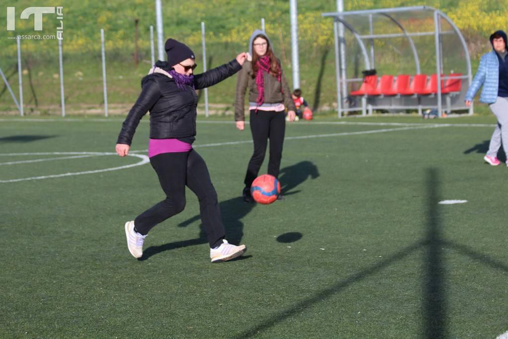 Allenamento delle Mamme nel pallone