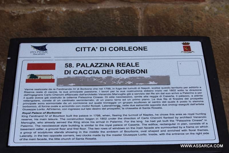 LE BELLEZZE DELLA SICILIA, LA REGGIA DI FERDINANDO IV, (RISERVA DI CACCIA)