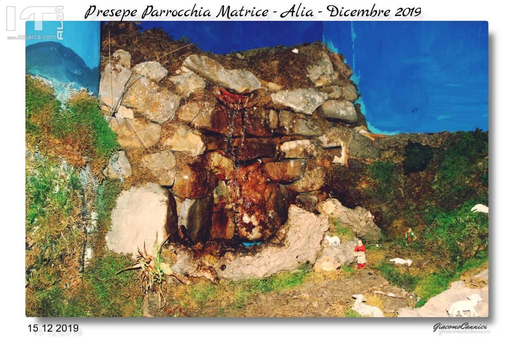 PRESEPE PARROCCHIA MATRICE - ALIA DIC.2019