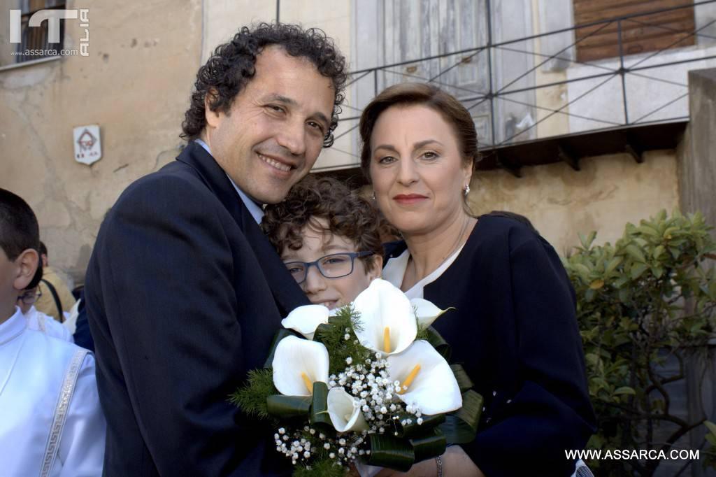 LA PRIMA COMUNIONE DI ANTONINO CARDELLA. ALIA 07 MAGGIO 2017.