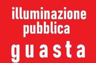 GUASTO PUBBLICA ILLUMINAZIONE