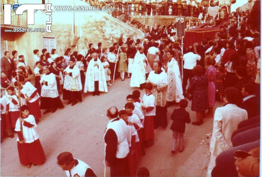 PROCESSIONI VARIE DELLA FESTA DEL 2 LUGLIO FINE ANNI 70 -