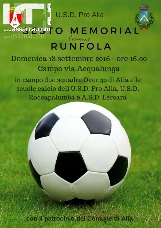 MEMORIAL FRANCESCO RUNFOLA