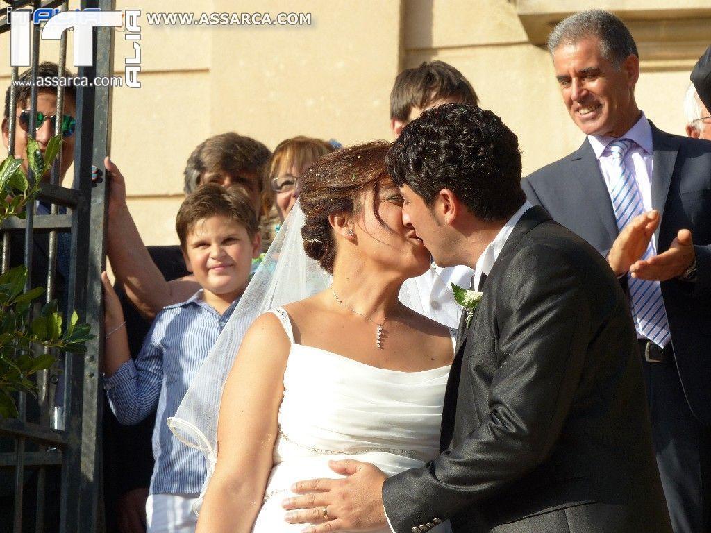 LE NOZZE DI DANILO & FRANCESCA - SANTUARIO MARIA SS. DELLE GRAZIE ALIA 23 AGOSTO 2014 ( 2^ PARTE )