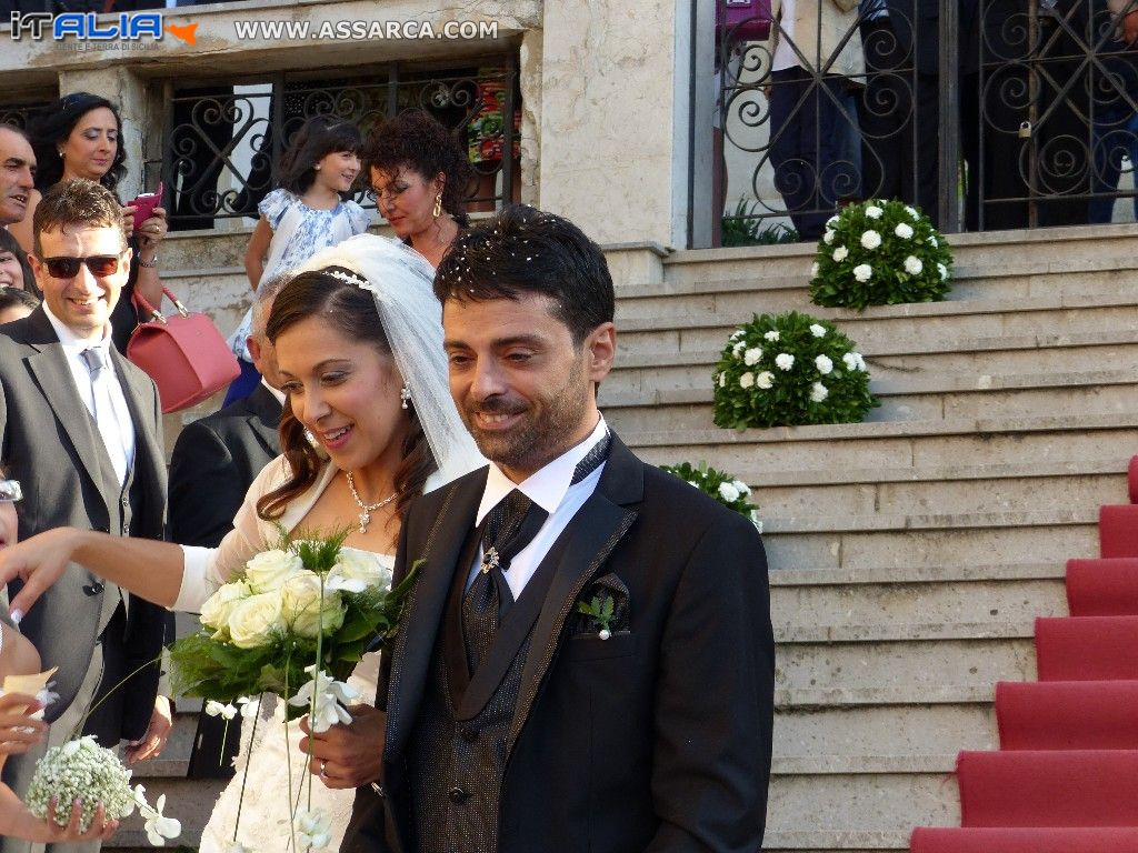 "ANTONELLA & GIACOMO "" MARRIED "" MONTEMAGGIORE BELSITO  SEPTEMBER 06 2014"